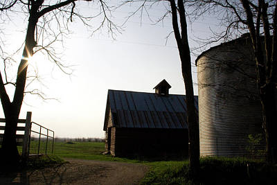 Photograph - Allerton Farm by Dylan Punke