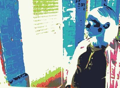 Digital Art - Alley1 by Mykul Anjelo