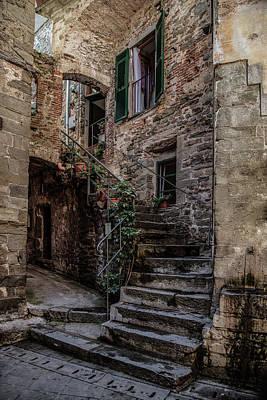 Photograph - Streets Of Manarola by Jaroslaw Blaminsky