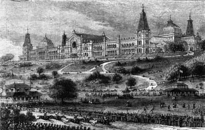 Ally Pally Racing Art Print by Hulton Archive