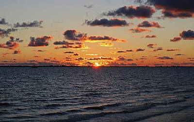 Photograph - Along Came The Sunset by Michiale Schneider