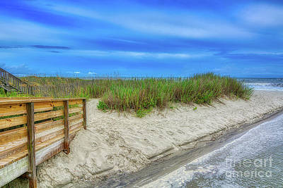 Photograph - Along Surfside Beach by Kathy Baccari