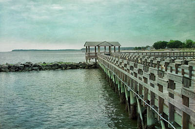 Photograph - Along The Pier by Dan Urban