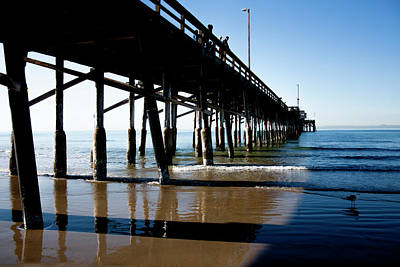 Photograph - Along The Pier by Eric Christopher Jackson