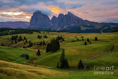 Wall Art - Photograph - Alp Di Suisi by Sebastien Coell