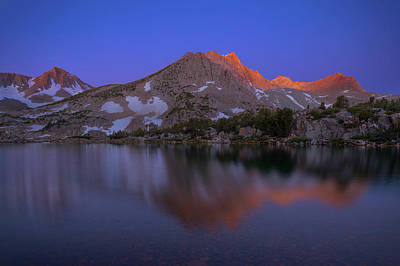 Mountain Royalty-Free and Rights-Managed Images - Alpenglow by Brian Knott Photography