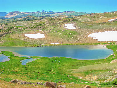 Photograph - Alpine Lake At Beartooth Pass by Benny Marty