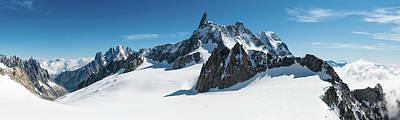 Alps White Wilderness Dramatic Art Print
