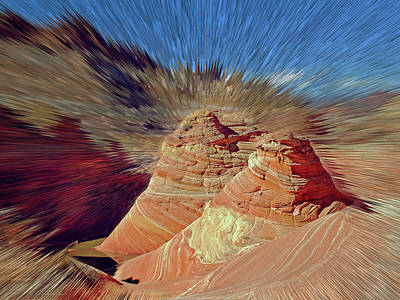 Photograph - Altered Wave by Jeff Brunton