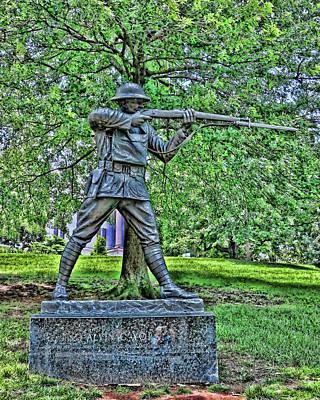 Photograph - Alvin C York Statue - Nashville by Allen Beatty