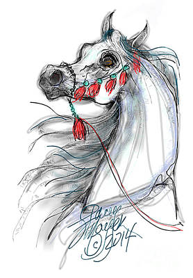 Digital Art - Always Equestrian by Stacey Mayer