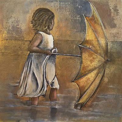 Painting - Always Gold by Nancy Hilliard Joyce