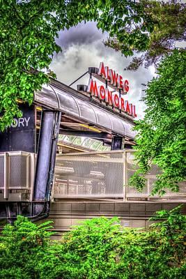 Photograph - Alweg Monorail by Spencer McDonald