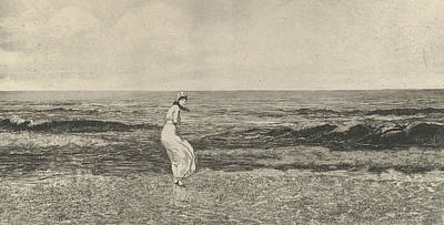 Relief - Am Meer, From The Series Intermezzi by Max Klinger