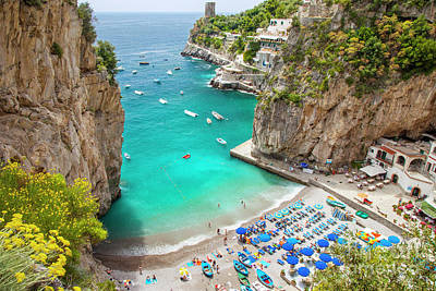 Photograph - Amalfi Coast Beach by Brian Jannsen