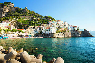 Photograph - Amalfi Coast, Italy by Brzozowska
