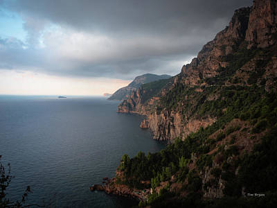 Photograph - Amalfi Coast, Italy by Tim Bryan