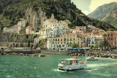 Photograph - Amalfy by Uri Baruch