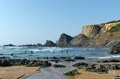 Photograph - Amalia Beach. Portugal by Angelo DeVal
