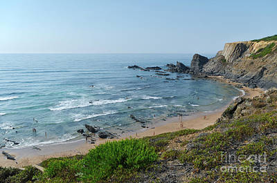 Photograph - Amalia Beach Southwest Alentejo by Angelo DeVal