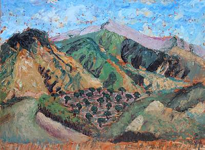 Painting - Amanda's Canigou by Vera Smith