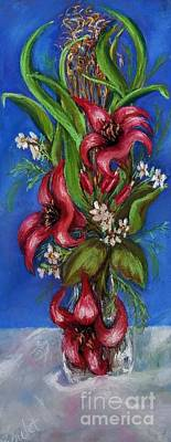 Pastel - Amarylis by Beverly Boulet