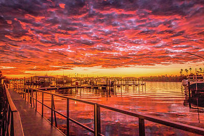 Photograph - Amazing Sunrise by Dorothy Cunningham
