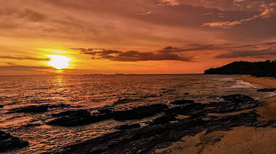 Photograph - Amazing Sunset - Koh Lanta by Julia Massold