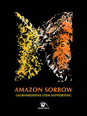 Painting - Amazon Sorrow by Laura Meddens