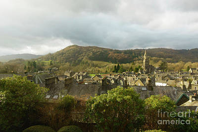 Ambleside Wall Art - Photograph - Ambleside Rooftops In The Lake District National Park by Louise Heusinkveld