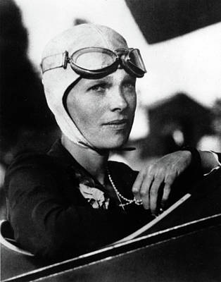 Photograph - Amelia Earhart by Doc Braham
