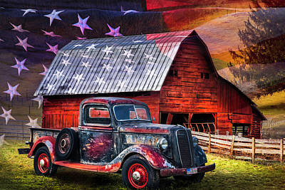 Photograph - America America God Shed His Grace On Thee by Debra and Dave Vanderlaan