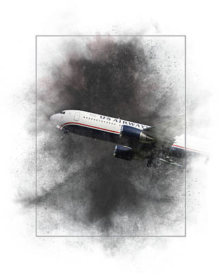 Mixed Media - American Airlines Boeing 767-200 Painting by Smart Aviation