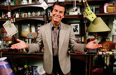 Photograph - American Bandstands Dick Clark Portrait by George Rose