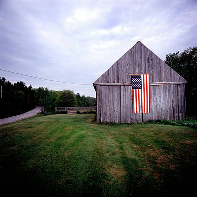 Freedom Photograph - American Barn by Jeff Corwin