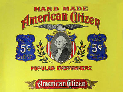 Photograph - American Citizen 5 Cent Cigars by Doc Braham