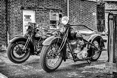 Photograph - American Classics Monochrome by Tim Gainey