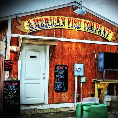 Photograph - American Fish Company by Don Margulis