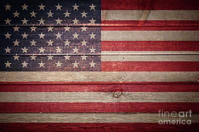 Photograph - American Flag by Marilyn Nieves