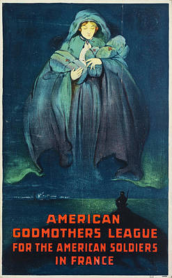 Photograph - American Godmothers League Poster by The New York Historical Society