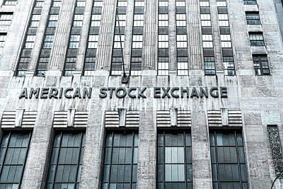 Photograph - American Stock Exchange by Sharon Popek