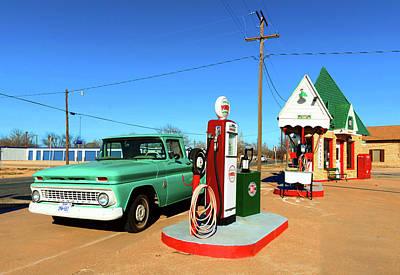 Photograph - Americana Gas Station by Doc Braham