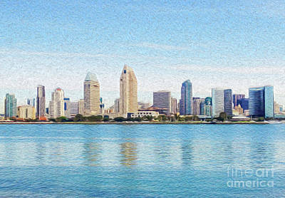 Digital Art - Americas Finest City by Kenneth Montgomery