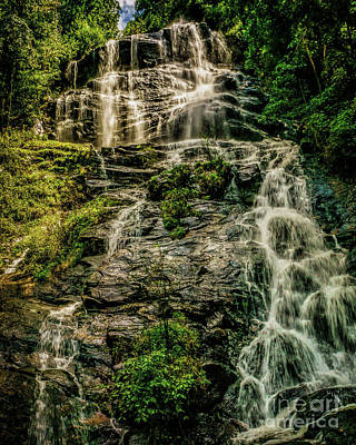 Photograph - Amicalola Waterfall by Nick Zelinsky