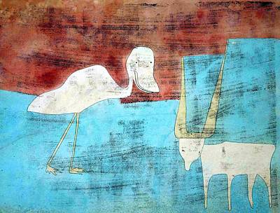 Edward Hopper - Amistad Animal by Paul Klee