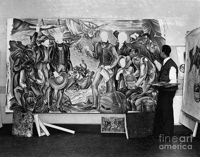 Photograph - Amistad Mural by Granger