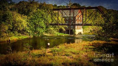 Photograph - Ammerman Mill by Debra Fedchin