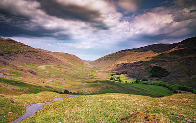 Photograph - Amongst The Fells by Framing Places