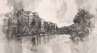 1-war Is Hell Royalty Free Images - Amsterdam - 14 Royalty-Free Image by AM FineArtPrints