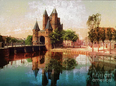 Photograph - Amsterdam Gate Holland - Remastered by Carlos Diaz